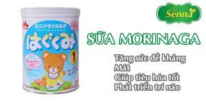 Sữa morinaga tốt cho trẻ bị táo bón