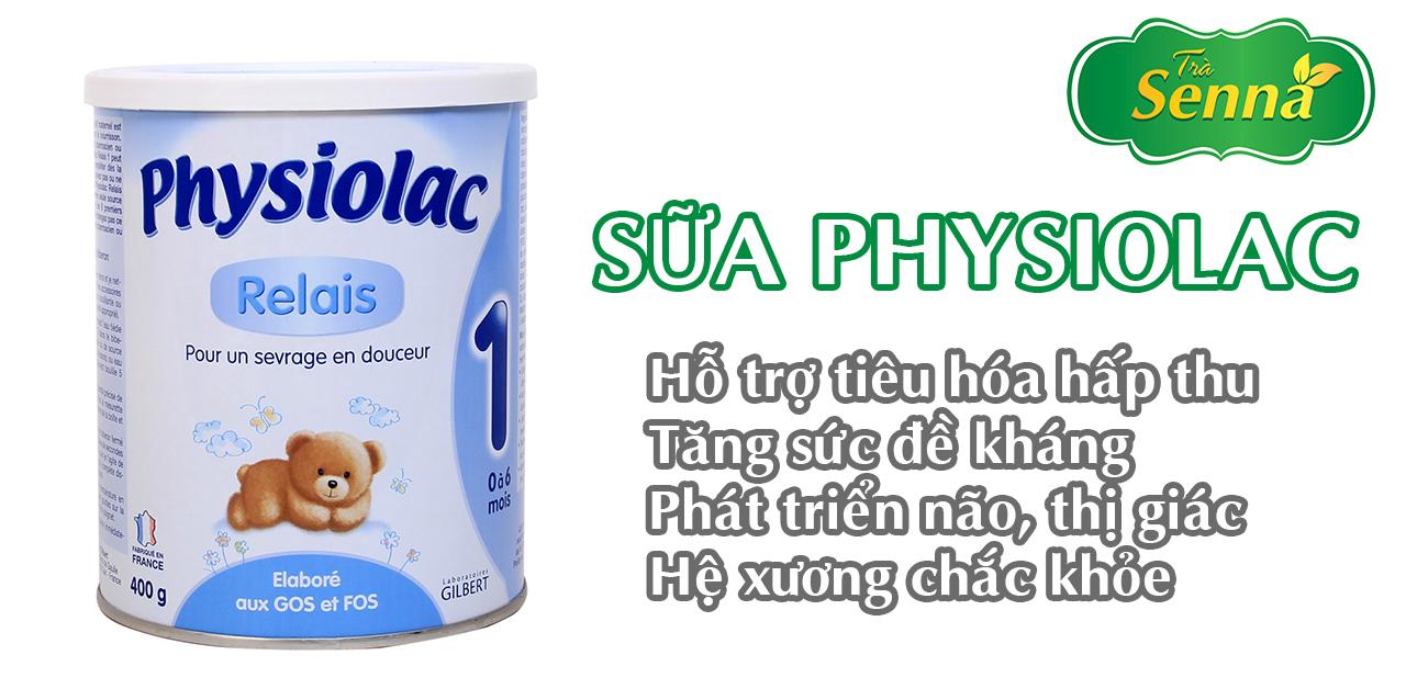 Sữa Physiolac rất tốt cho hệ tiêu hóa