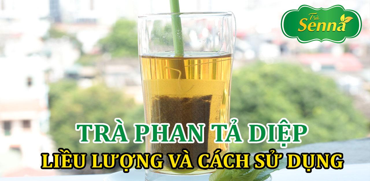 Liều lượng và cách sử dụng trà Phan Tả Diệp