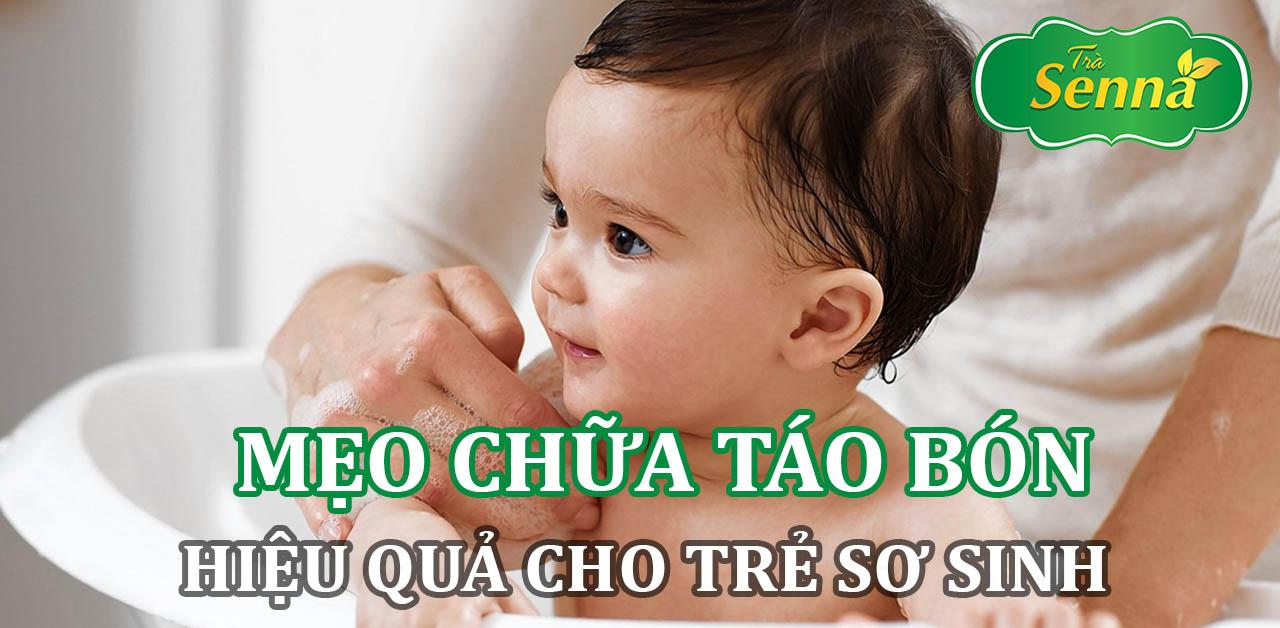 Mẹo chữa táo bón hiệu quả cho trẻ sơ sinh