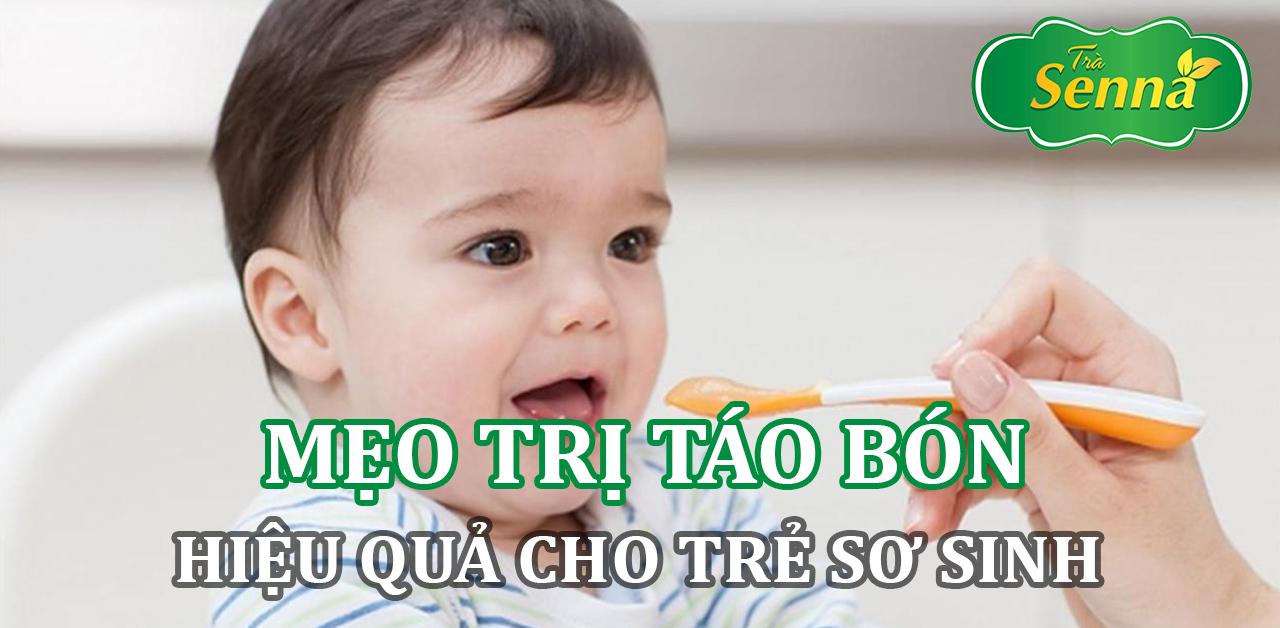 Mẹo trị táo bón hiệu quả cho trẻ sơ sinh