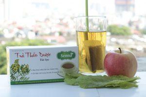 Chữa táo bón bằng trà Senna